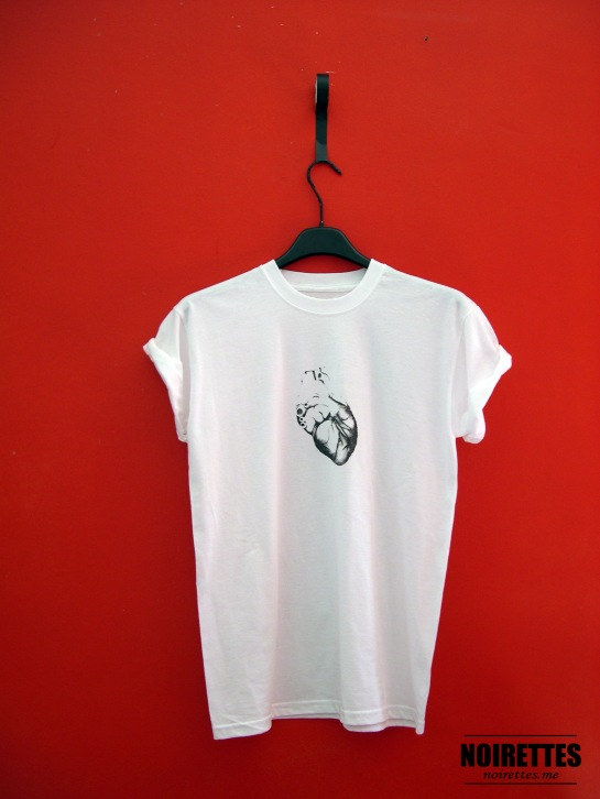 BIG HEART WHITE Tee