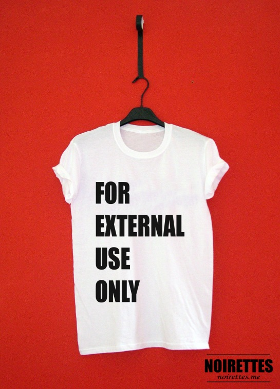 FOR EXTERNAL USE ONLY Tee